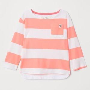 NWT H&M L.O.G.G. Long Sleeve Top Shirt 18-24mo